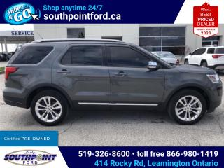 Used 2019 Ford Explorer XLT|NAV|MOONROOF|ADAPTIVE CRUISE|HTD SEATS|REMOTE START|TRAILER TOW PKG for sale in Leamington, ON