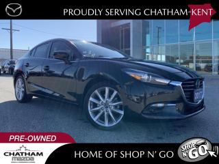 Used 2017 Mazda MAZDA3 GT FWD With Navigation for sale in Chatham, ON