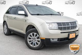 Used 2010 Lincoln MKX SOLD AS TRADED, YOU CERTIFY, YOU SAVE!!! for sale in Barrie, ON