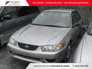 Used 2002 Toyota Corolla for sale in Toronto, ON
