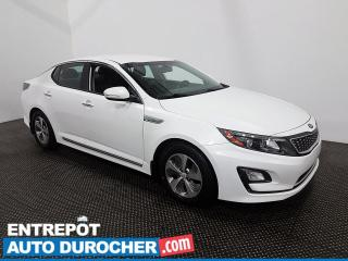 Used 2016 Kia Optima Hybrid LX - Caméra de Recul - Bluetooth - Climatiseur for sale in Laval, QC