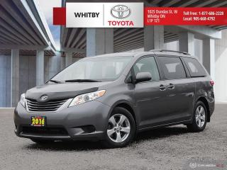 Used 2016 Toyota Sienna LE for sale in Whitby, ON