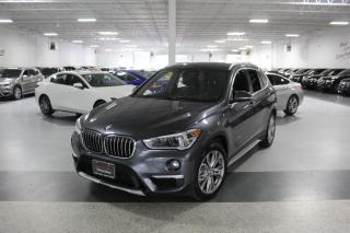 Used 2017 BMW X1 XDRIVE28i I PANOROOF I REAR CAM I PUSH START I HEATED SEATS for sale in Mississauga, ON