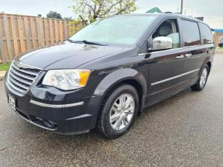 Used 2008 Chrysler Town & Country 4dr Limited   Navi   DVD   Back-Up   Remote Start for sale in Mississauga, ON