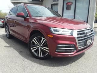 Used 2018 Audi Q5 2.0T Technik quattro - S-LINE! NAV! 360 CAM! PANO ROOF! for sale in Kitchener, ON