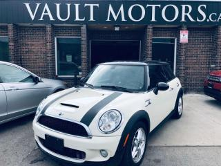 Used 2010 MINI Cooper Hardtop 2dr Cpe  S, SUPERCHARGER, LEATHER.NO ACCIDENTS for sale in Brampton, ON