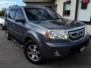 Used 2009 Honda Pilot Touring 4WD - LEATHER! NAV! BACK-UP CAM! DVD! 8 PASS! for sale in Kitchener, ON