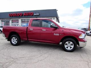 Used 2014 RAM 1500 SLT Quad Cab 4WD Eco Diesel Bluetooth Certified for sale in Milton, ON