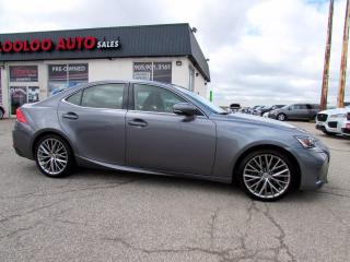 Used 2017 Lexus IS 300 AWD Camera No Accident One Owner Certified for sale in Milton, ON