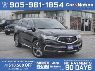 Used 2019 Acura MDX Tech SH-AWD| SUNROOF| NAVI| for sale in Burlington, ON