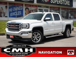 Used 2017 GMC Sierra 1500 SLT  NAV ROOF LEATH HTD-S/W 20-AL for sale in St. Catharines, ON