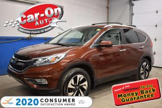 Used 2015 Honda CR-V LEATHER | LOW KMS | NAVIGATION for sale in Ottawa, ON