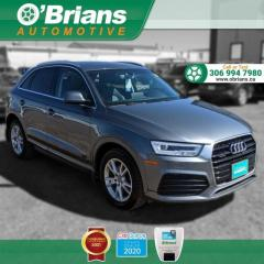 Used 2016 Audi Q3 Technik w/4WD, Leather, Backup Camera, Heated Seats for sale in Saskatoon, SK