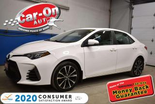 Used 2017 Toyota Corolla XSE LEATHER | SUNROOF | NAVIGATION for sale in Ottawa, ON