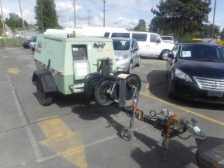 Used 2003 Sullair 260DPR Diesel Air Compressor Trailer for sale in Burnaby, BC