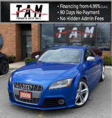 Used 2009 Audi TT S 2.0T Leather Heated Seats PDC for sale in North York, ON