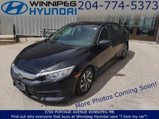 Used 2016 Honda Civic SEDAN LX for sale in Winnipeg, MB