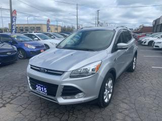 Used 2015 Ford Escape Titanium,4WD for sale in Hamilton, ON