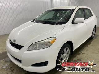 Used 2009 Toyota Matrix XR 2.4 A/C CRUISE VITRES ÉLECTRIQUES *Transmission Automatique* for sale in Shawinigan, QC