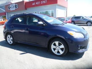 Used 2012 Toyota Matrix S awd toit ouvrant for sale in East broughton, QC