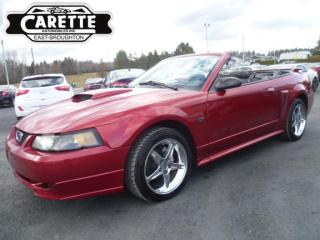 Used 2003 Ford Mustang GT Décapotable for sale in East broughton, QC