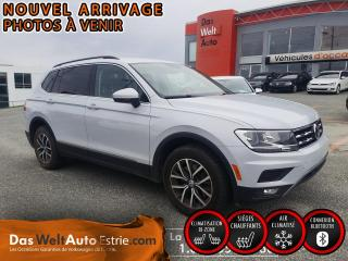 Used 2018 Volkswagen Tiguan Comfortline 4Motion, 7 passagers! for sale in Sherbrooke, QC