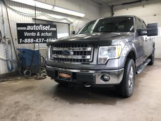 Used 2013 Ford F-150 4WD SuperCrew 157  XLT for sale in St-Raymond, QC