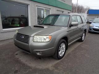 Used 2006 Subaru Forester 5dr Wgn 2.5XT Manual for sale in St-Jérôme, QC