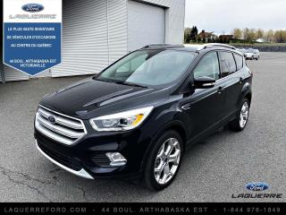 Used 2019 Ford Escape Titanium 4rm for sale in Victoriaville, QC