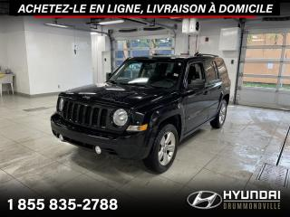 Used 2014 Jeep Patriot NORTH 4X4 + GARANTIE + TOIT + A/C + WOW for sale in Drummondville, QC