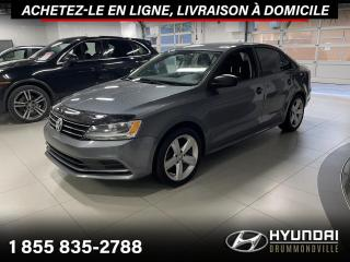 Used 2017 Volkswagen Jetta GARANTIE + CAMERA + MAGS + WOW !! for sale in Drummondville, QC