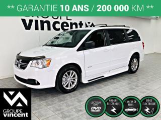 Used 2015 Dodge Grand Caravan SAVARIA ADAPTÉ ** GARANTIE 10 ANS ** Modèle adapté! for sale in Shawinigan, QC