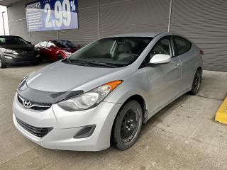 Used 2011 Hyundai Elantra GL,A/C,CRUISE,BANCS CHAUFFANTS, VITRES,BLUETOOTH for sale in Mirabel, QC