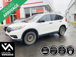 Used 2016 Honda CR-V LX ** GARANTIE 10 ANS ** Fiable et sécuritaire! for sale in Shawinigan, QC