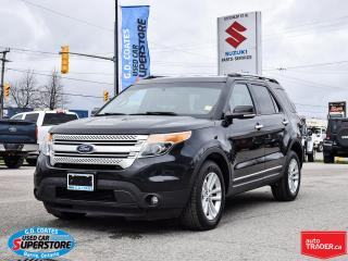 Used 2015 Ford Explorer XLT 4x4 ~7-Passenger ~Nav ~Camera ~Heated Seats for sale in Barrie, ON