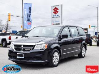 Used 2015 Dodge Grand Caravan ~Dual Zone Climate Control ~Rear Stow 'N Go for sale in Barrie, ON