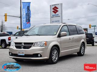 Used 2015 Dodge Grand Caravan SXT Premium Plus ~DVD ~Camera ~ONLY 42,000 KM! for sale in Barrie, ON