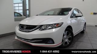 Used 2014 Honda Civic HYBRIDE + ATT. REMORQUE + BLUETOOTH ! for sale in Trois-Rivières, QC