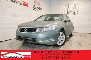Used 2008 Honda Accord EX for sale in Blainville, QC