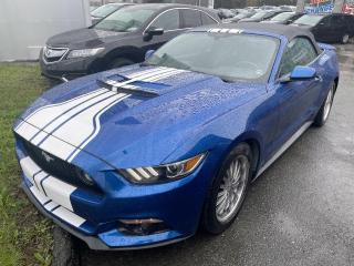 Used 2017 Ford Mustang V6 / DECAPOTABLE / AUTOMATIQUE / CAMERA for sale in Sherbrooke, QC