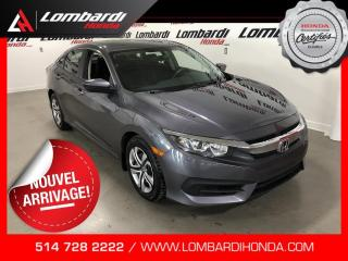 Used 2017 Honda Civic LX|CAM|BLUETOOTH| for sale in Montréal, QC