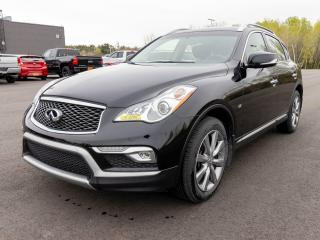 Used 2017 Infiniti QX50 AWD SIÈGES CHAUFFANTS CUIR TOIT OUVRANT *BAS KM* for sale in Mirabel, QC