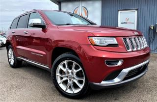 Used 2014 Jeep Grand Cherokee ***SUMMIT,4X4,CUIR,EQUIPEMENT COMPLET*** for sale in Longueuil, QC