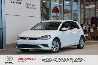 Used 2018 Volkswagen Golf Trendline CERTIFIER! APPLE CARPLAY! ANDROID AUTO! BLUETOOTH! for sale in Lachine, QC