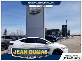 Used 2017 Hyundai Elantra MODÈLE GLS TOIT OUVRANT DEMARRREUR A/C G for sale in St-Félicien, QC
