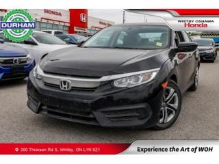 Used 2017 Honda Civic LX | Manual | Heated Front Seats for sale in Whitby, ON