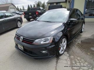 Used 2016 Volkswagen Jetta LOADED GLI-EDITION 5 PASSSENGER 2.0L - TURBO.. NAVIGATION.. LEATHER.. HEATED SEATS.. BACK-UP CAMERA.. POWER SUNROOF.. BLUETOOTH.. FENDER AUDIO.. for sale in Bradford, ON