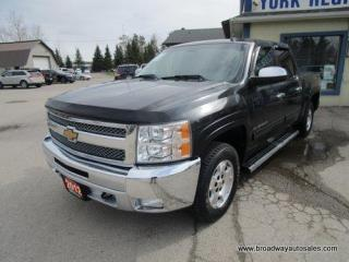 Used 2012 Chevrolet Silverado 1500 WORK READY LT EDITION 6 PASSENGER 5.3L - VORTEC.. 4X4.. CREW-CAB.. SHORTY.. TOW SUPPORT.. CD/AUX INPUT.. KEYLESS ENTRY.. POWER MIRRORS.. for sale in Bradford, ON