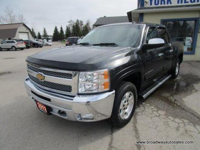 2012 Chevrolet Silverado 1500 WORK READY LT EDITION 6 PASSENGER 5.3L - VORTEC.. 4X4.. CREW-CAB.. SHORTY.. TOW SUPPORT.. CD/AUX INPUT.. KEYLESS ENTRY.. POWER MIRRORS..