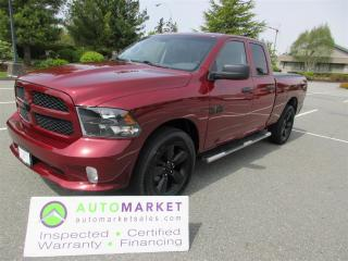 Used 2019 RAM 1500 Classic 4X4, V6, INSPECTED, DETAILED, FREE WARRANTY & BCAA MEMBERSHIP for sale in Surrey, BC